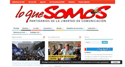 Preview of loquesomos.org